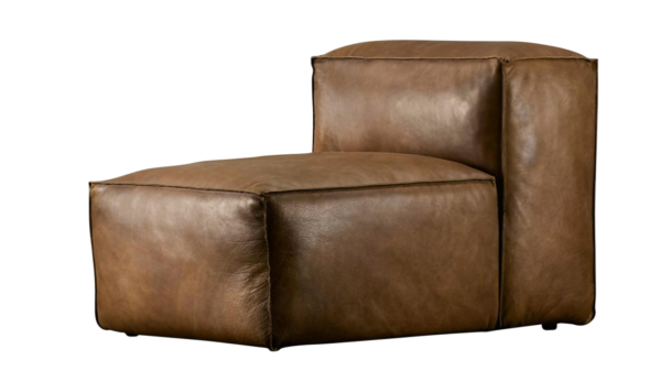 Comfortable Sitting Leather Single Seater Sofa