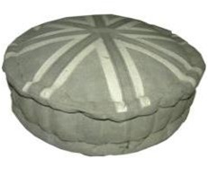 Handmade Flag Designed Floor Pouf