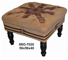 Chester Field Stool With Stylish Design