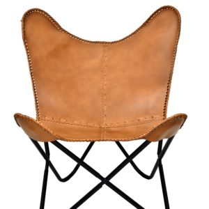 Butterfly Chair With Designer Stylish Mid & Side Border