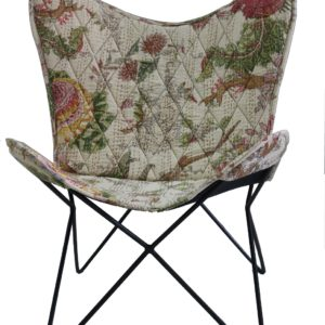 Handmade Printed Designer Butterfly Chair