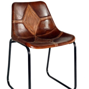 Designer Handmade Leather Bar Chair