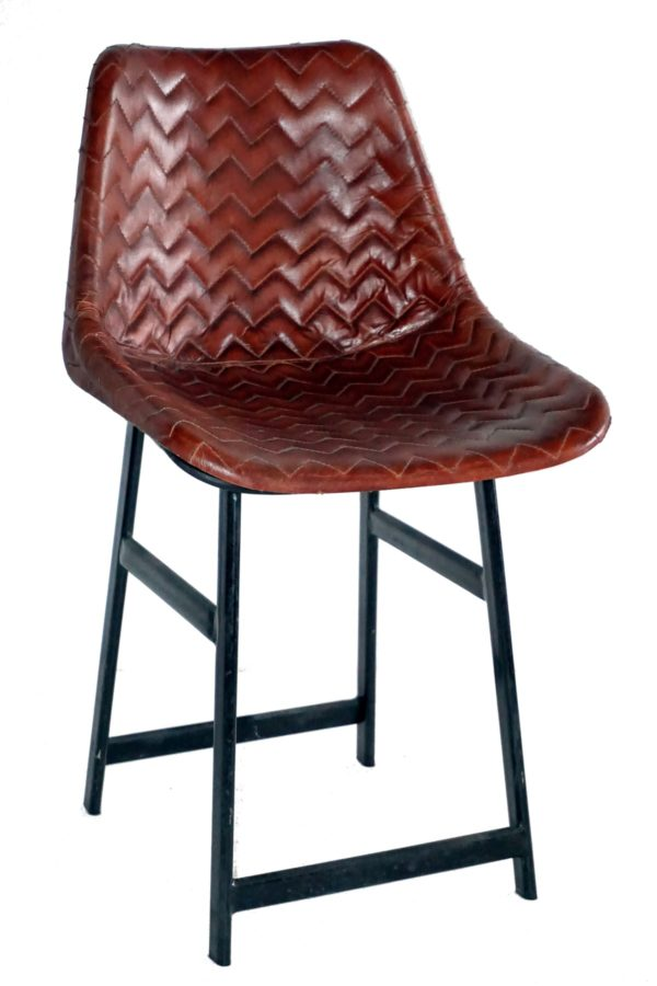Handmade Leather Designer Royal Bar Chair