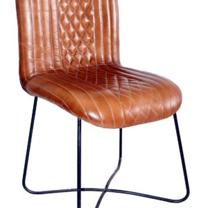 Handmade Without Handle Designer Leather Chair