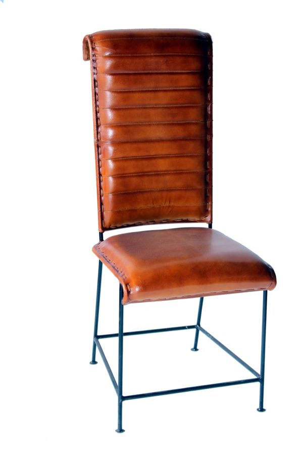 Hand-Crafted Long Back Designer Chair