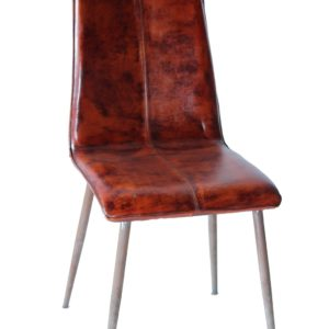 Handmade Simple Designer Leather Chair