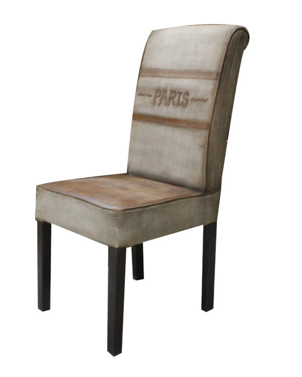 Hand-Crafted Leather Dinning Chair